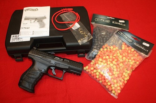 WALTHER CO2 T4E PPQ